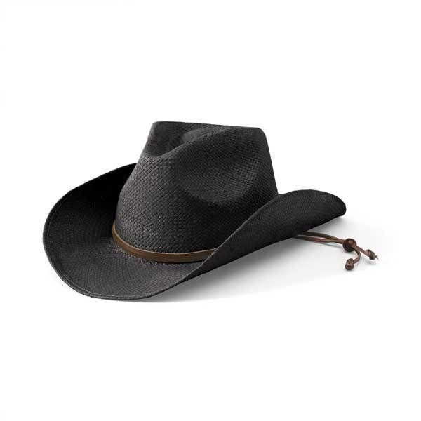 STCLOSBLK- Women's Soft Toyo Cowboy Hat  -  black   -  WOMENS O/S