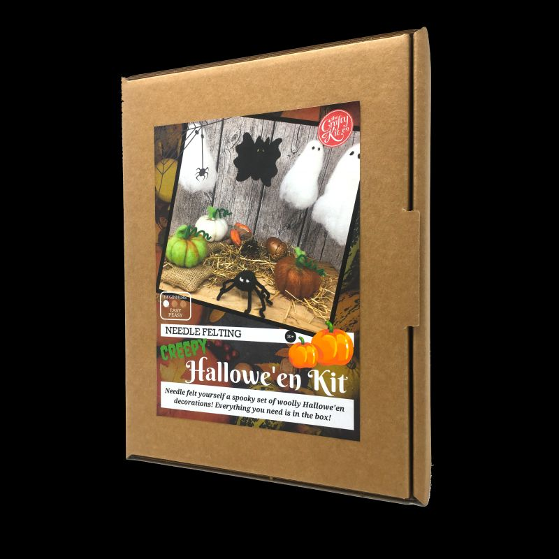 Crafty Kit Company  Hallowe'en Needle Felting Kit