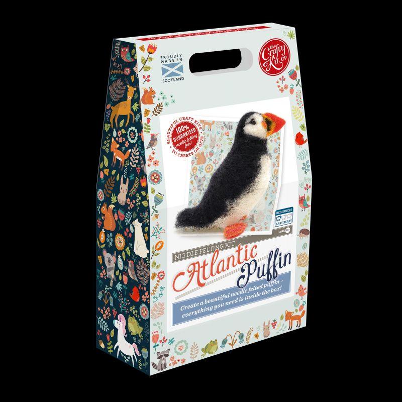 Crafty Kit Company  Atlantic Puffin Needle Felting Kit