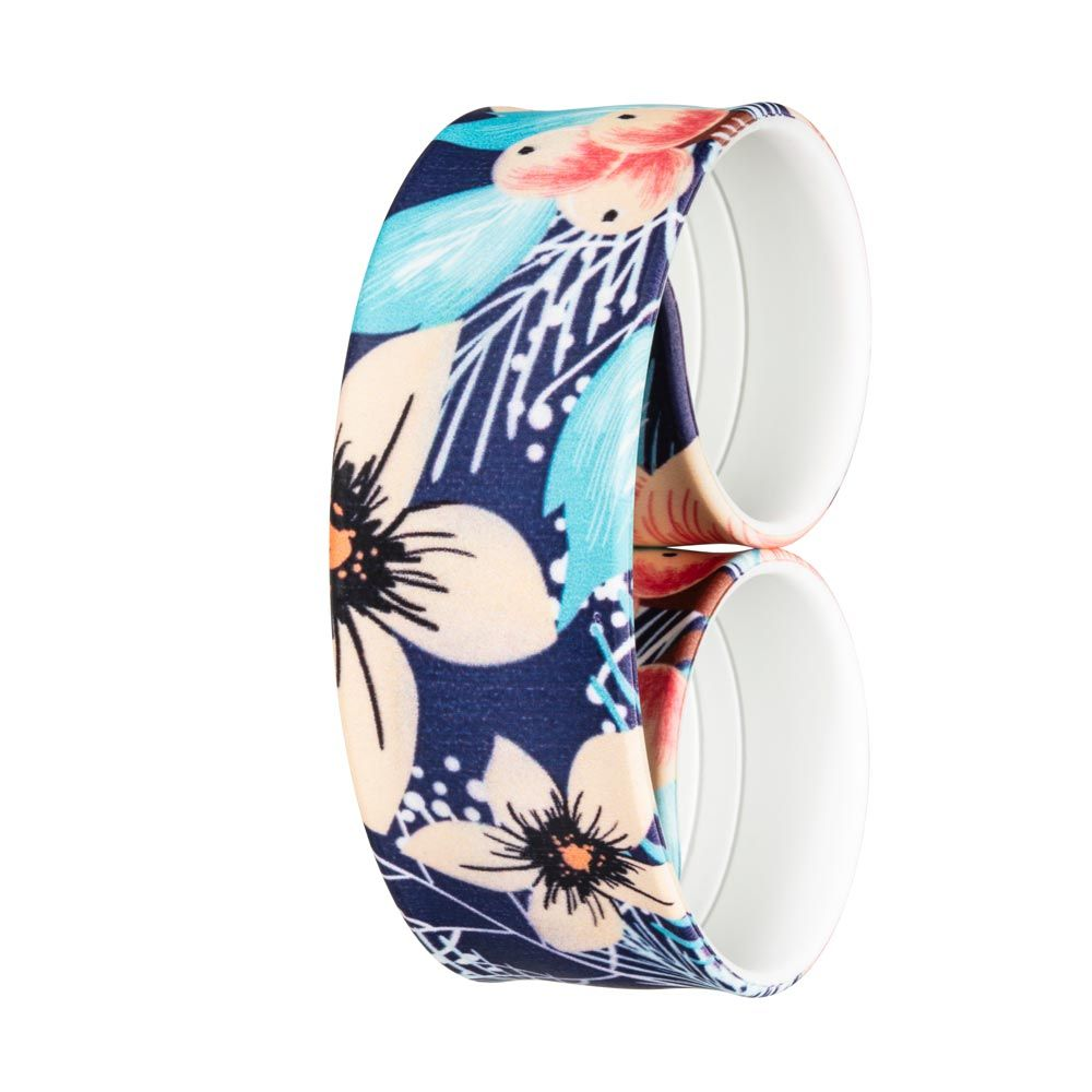 Bills Watches: Addict Collection - Addict Printed Slap Bands - Atoll, MOQ 3 units at £5.00 per unit