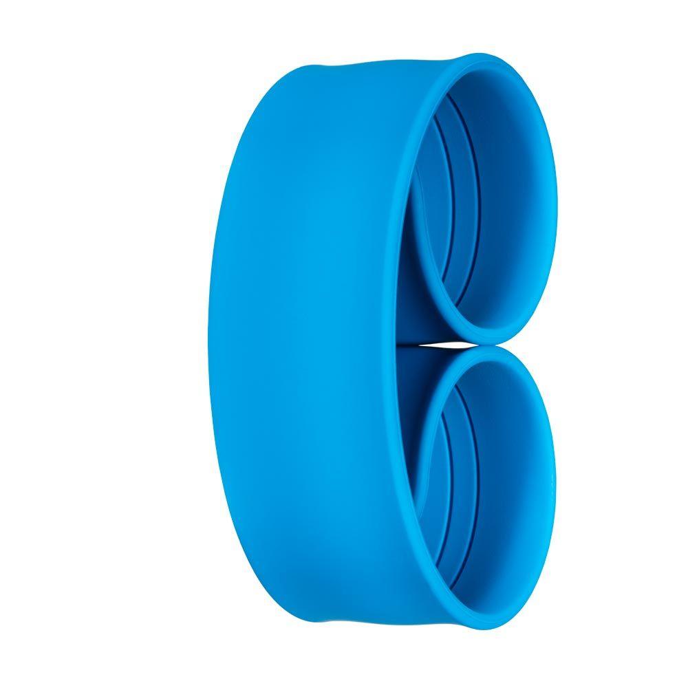 Bills Watches: Addict Collection - Addict Unicolour Slap Bands - Bleu Lagon  , MOQ 3 units at £3.00 per unit