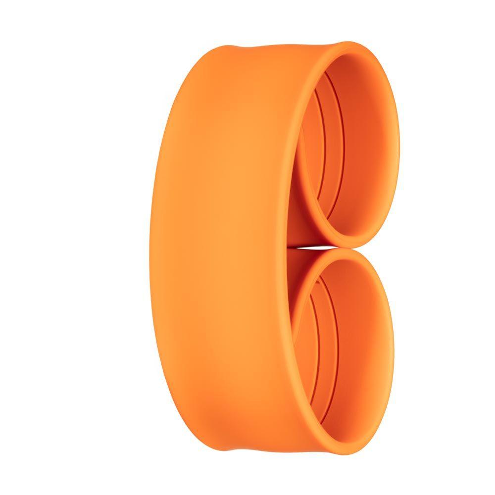 Bills Watches: Addict Collection - Addict Unicolour Slap Bands - Orange, MOQ 3 units at £3.00 per unit