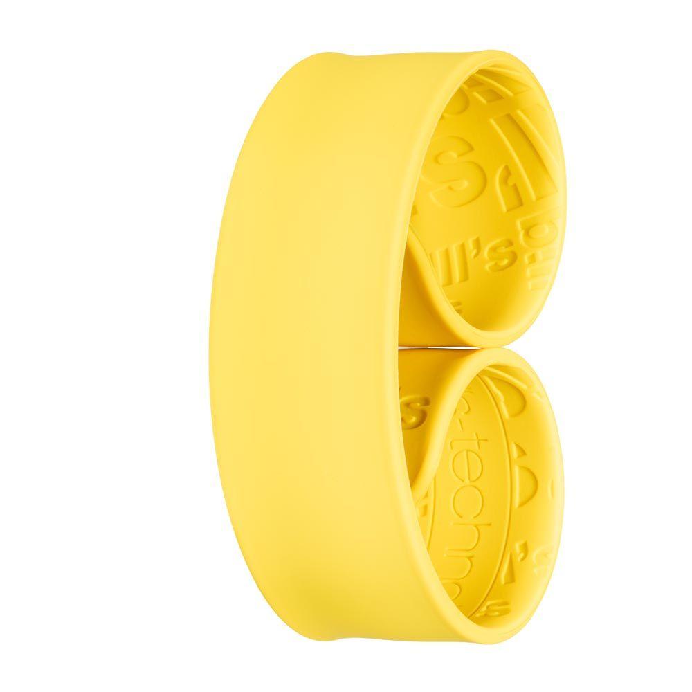 Bills Watches: Addict Collection - Addict Unicolour Slap Bands - Jaune, MOQ 3 units at £3.00 per unit