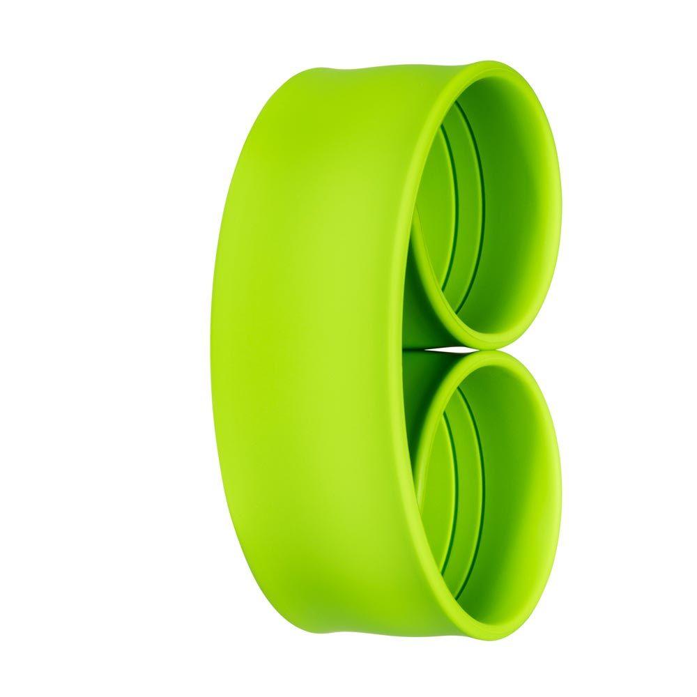 Bills Watches: Addict Collection - Addict Unicolour Slap Bands - Vert, MOQ 3 units at £3.00 per unit