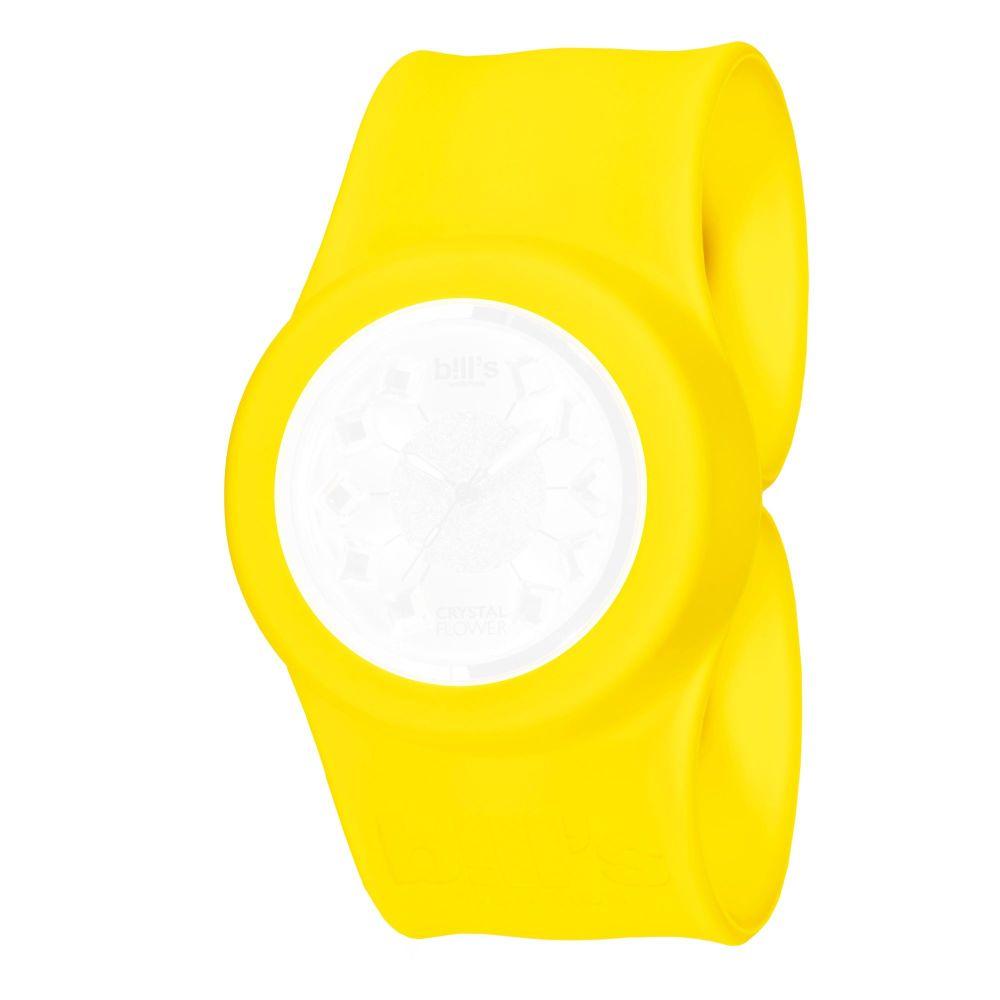 Bills Watches: Classic Collection - Unicolour Slap Bands - Jaune