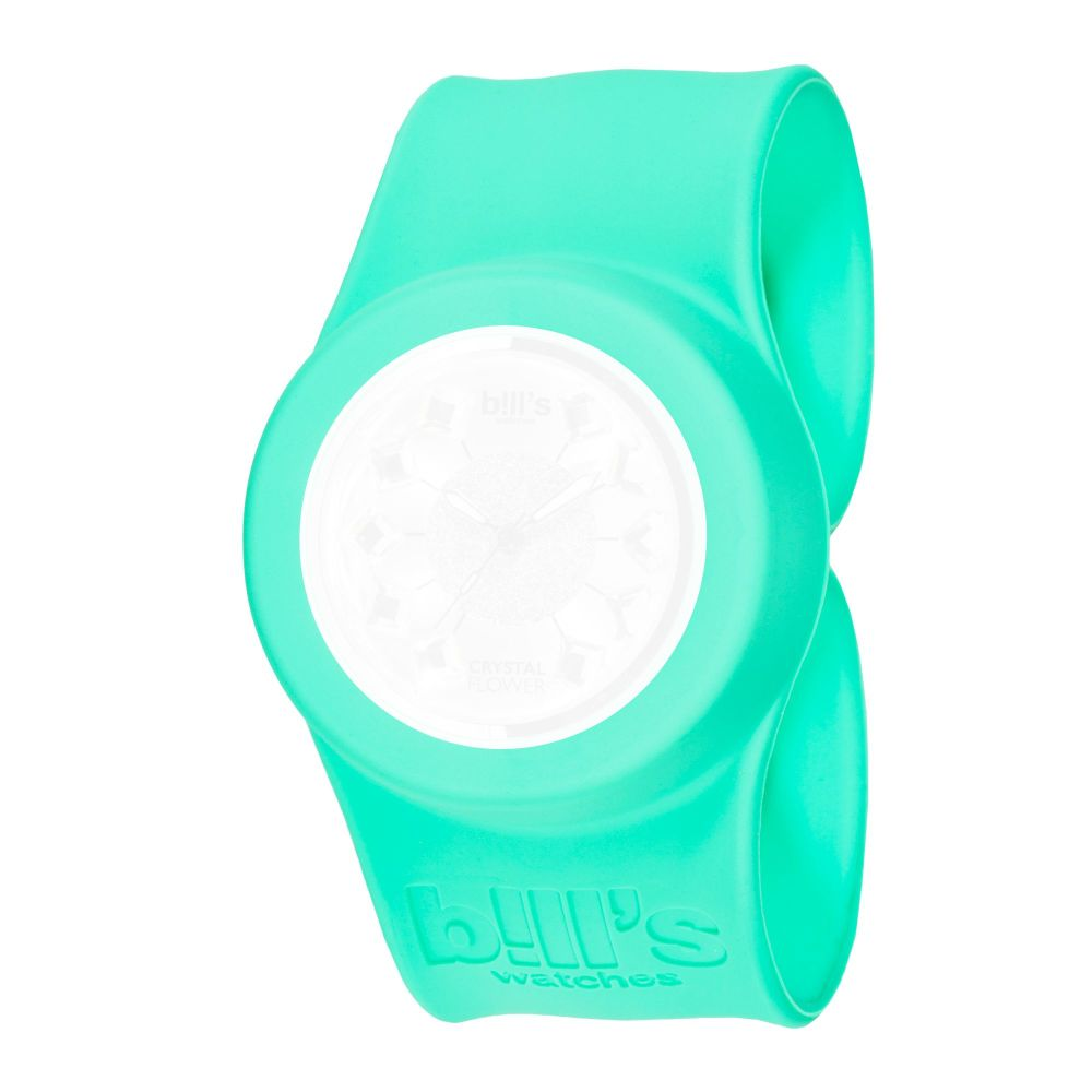 Bills Watches: Classic Collection - Unicolour Slap Bands - Menthe