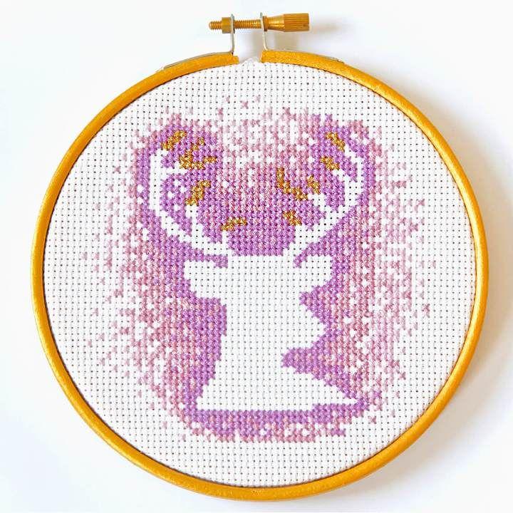 Stag Cross Stitch kit