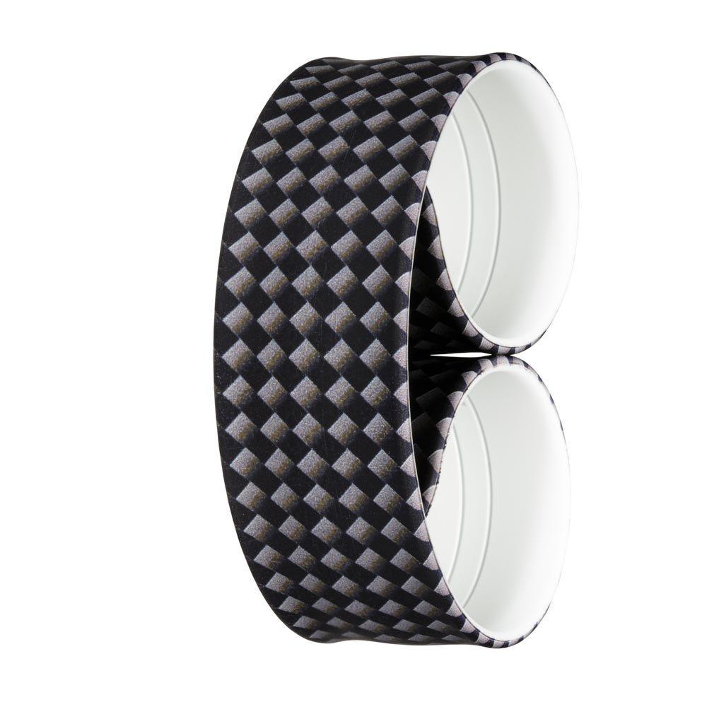 Bills Watches: Addict Collection - Addict Printed Slap Bands - Carbon, MOQ 3 units at £5.00 per unit