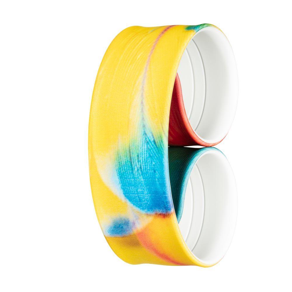 Bills Watches: Addict Collection - Addict Printed Slap Bands - Parrot, MOQ 3 units at £5.00 per unit