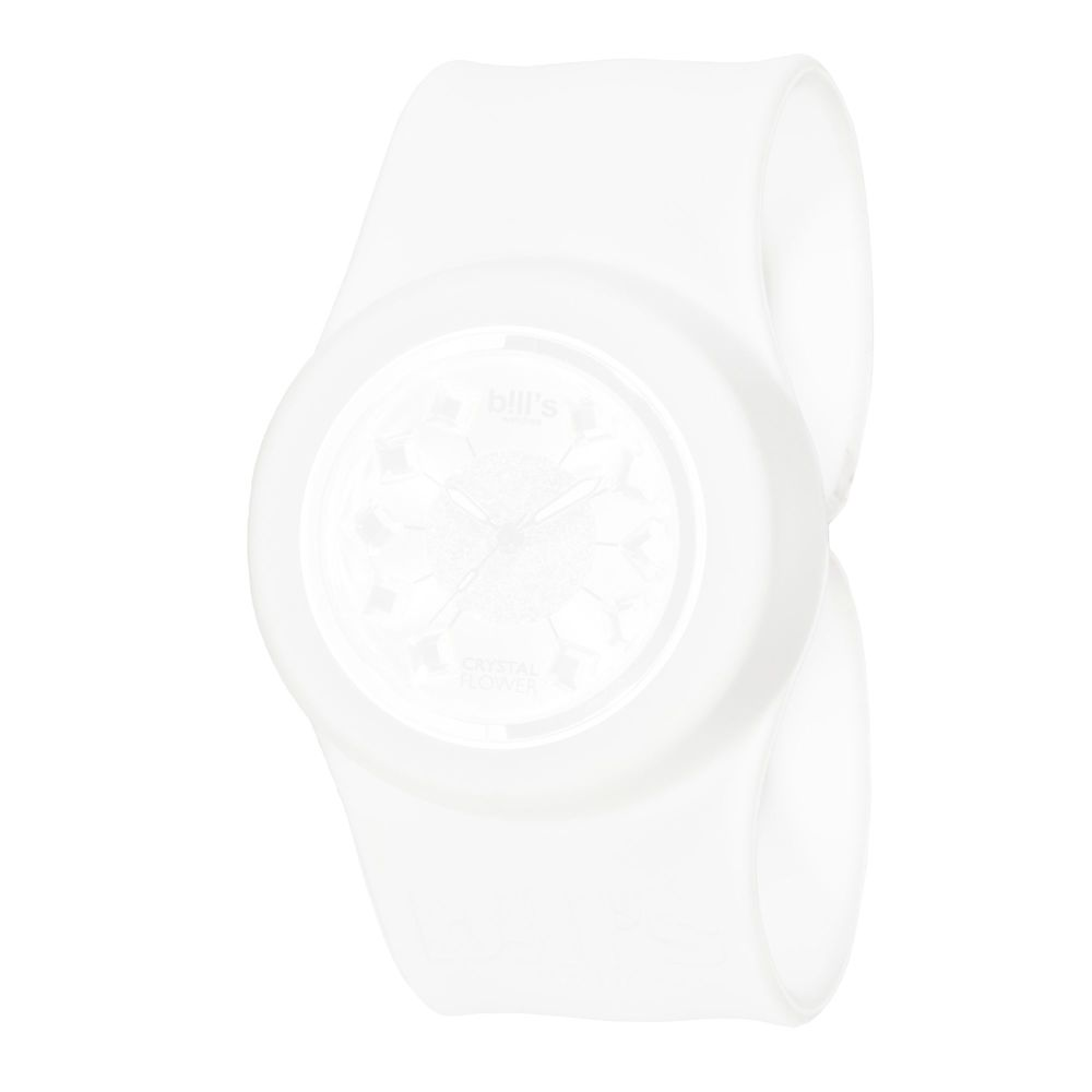 Bills Watches: Classic Collection - Unicolour Slap Bands - Blanc