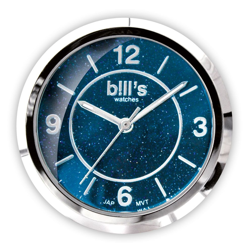 Bills Watches: Classic Collection - Dials - Precious Galaxy - Blue Palissandro - Marble Dial