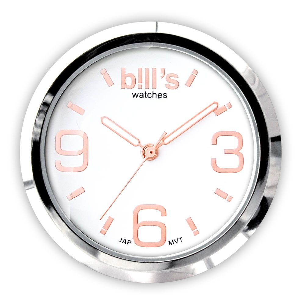Bills Watches: Classic Collection - Dials - White Rose Gold
