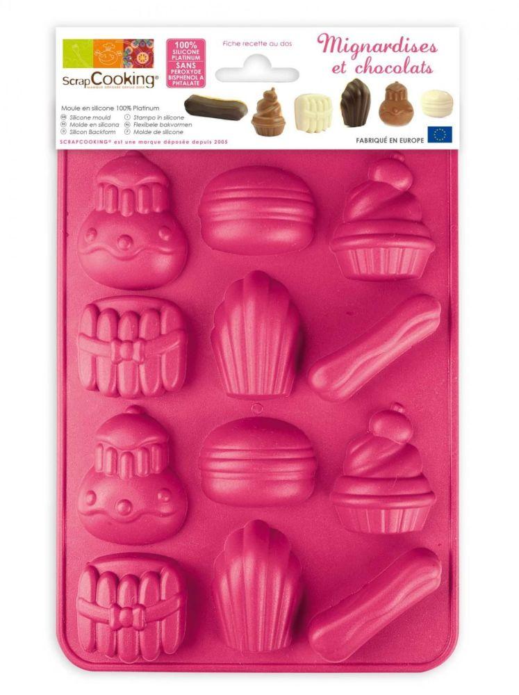 Scrap Cooking: Mould ScrapCooking®  chocolate sweets. MOQ 6 Units @ £7.73 per unit 6727