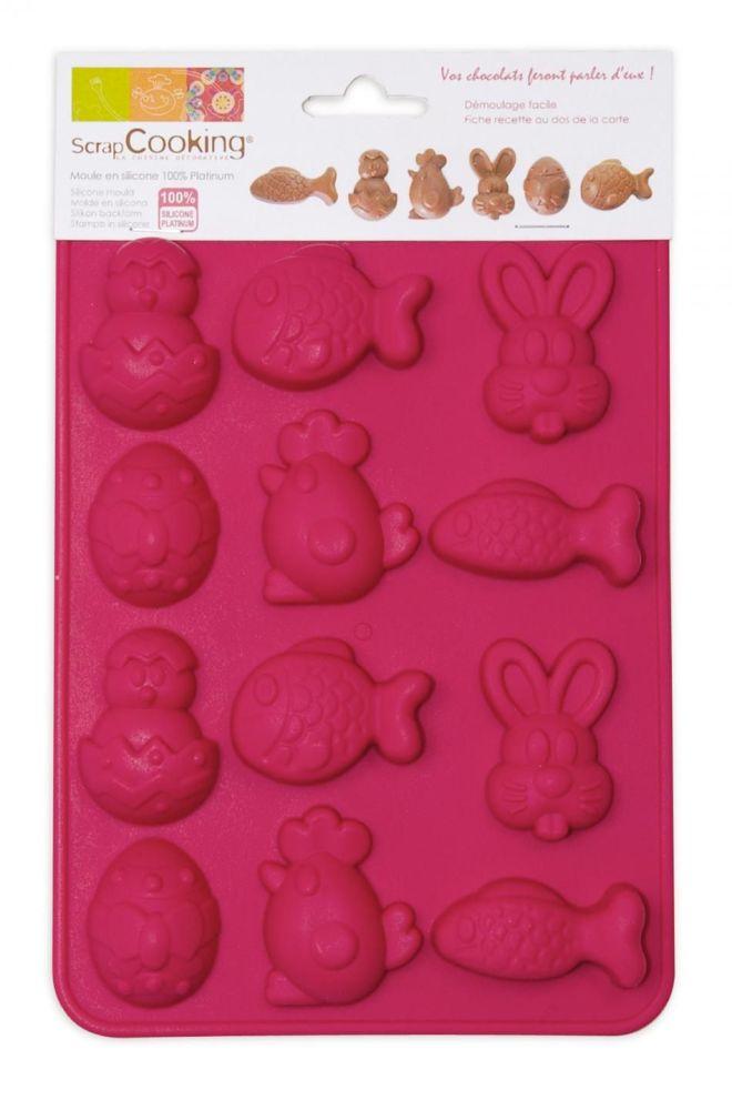 """Scrap Cooking: Mould ScrapCooking® """"Easter Chocolates"""". MOQ 6 Units @ £7.73 per unit 6726"""