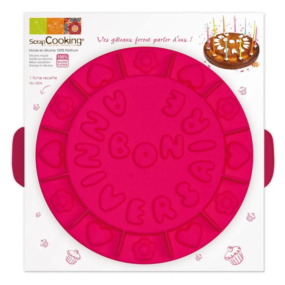 """Scrap Cooking: Creative Mould ScrapCooking® """"Bon Anniversaire"""". MOQ 4 Units @ £18.35 per unit 3003"""