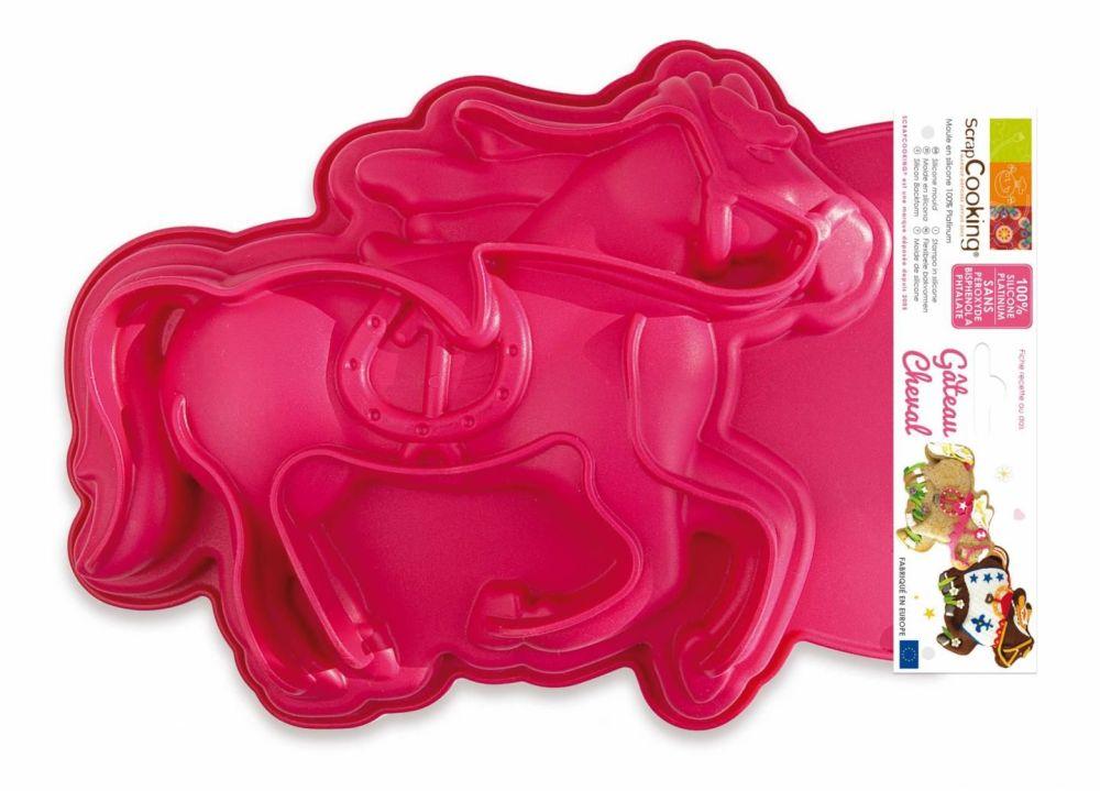 """Scrap Cooking: ScrapCooking® Mould """"Horse shapel"""". MOQ 4 Units @ £12.79 per unit 3161"""