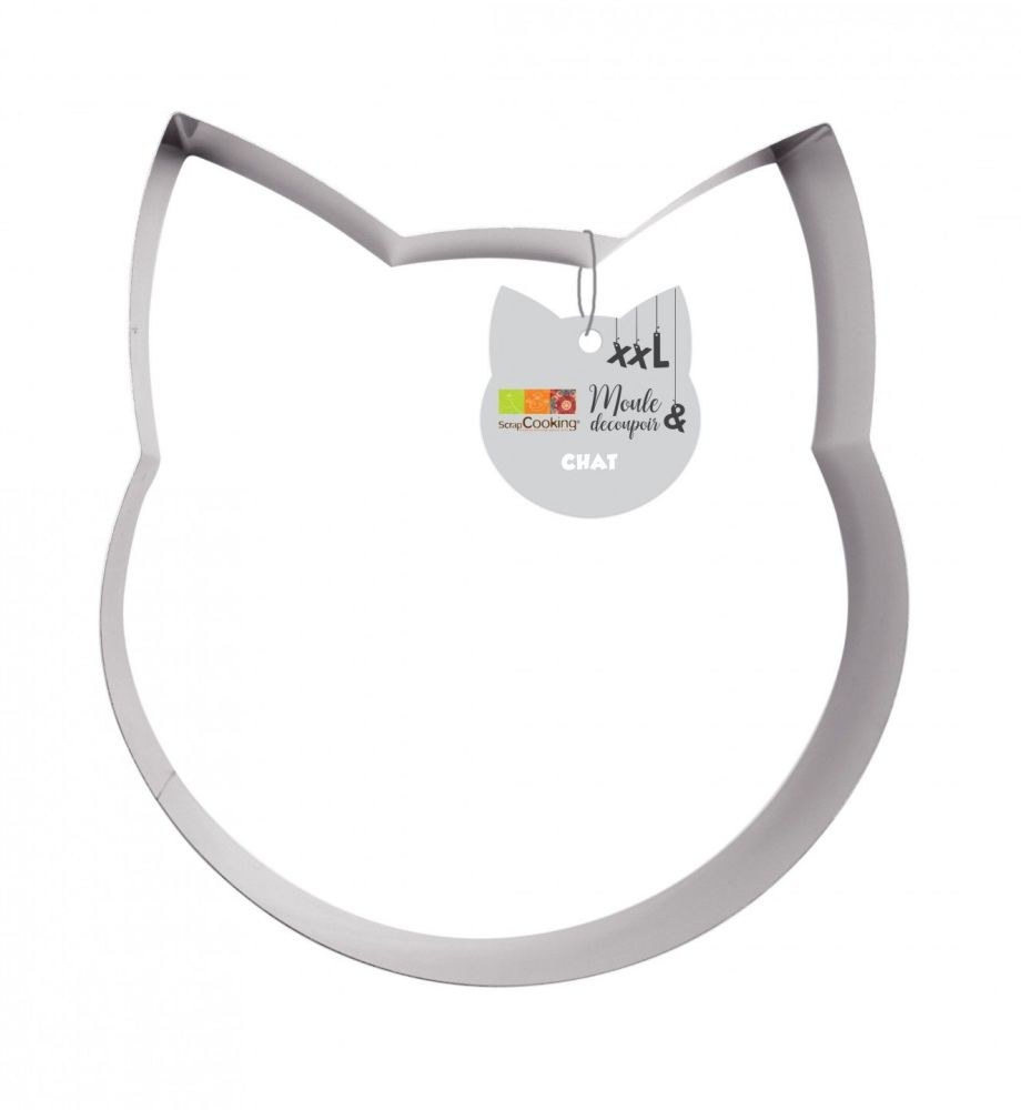 """Scrap Cooking: Cake mould and stainless steel cutter """"Cat"""". MOQ 6 Units @ £8.06 per unit 1991"""