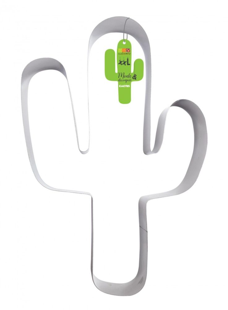 """Scrap Cooking: Cake mould and stainless steel cutter """"Cactus"""". MOQ 6 Units @ £8.06 per unit 1990"""