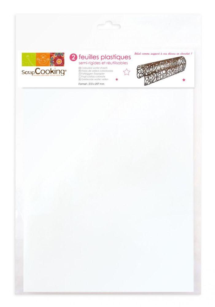 Scrap Cooking: 2 plastic sheets. MOQ 5 Units @ £3.35 per unit 9424