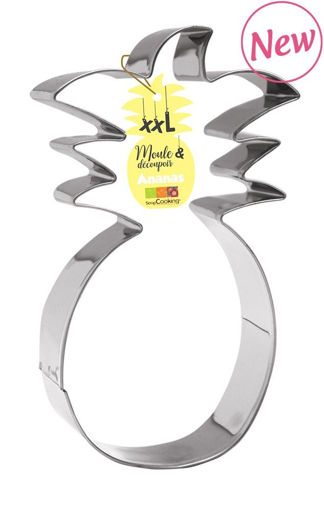 Scrap Cooking: Cake mould and stainless steel cutter « Pineapple ». MOQ 6 Units @ £8.02 per unit 1981