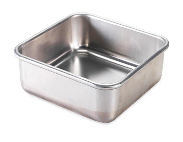Scrap Cooking: inox mould 18/8 carré 21x21cm H8 cm. MOQ 4 Units @ £19.94 per unit 1905
