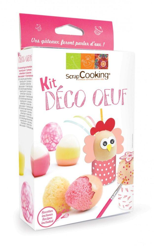 Scrap Cooking: Deco 'egg set. MOQ 6 Units @ £7.34 per unit 3947