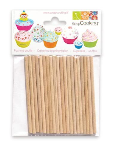 Scrap Cooking: 20 Recharge sticks for lollipops. MOQ 5 Units @ £2.31 per unit 5011