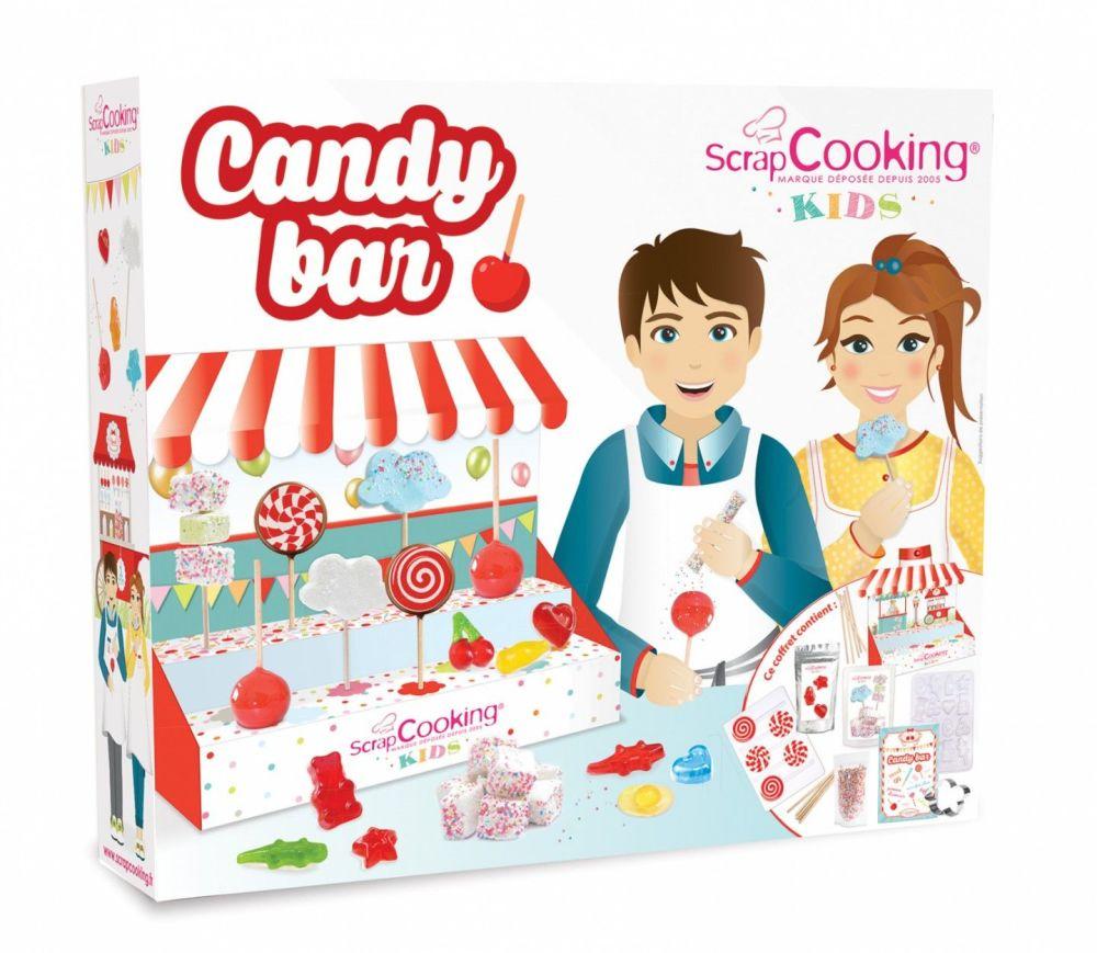 Scrap Cooking: Candy bar box. MOQ 4 Units @ £22.4 per unit 3804