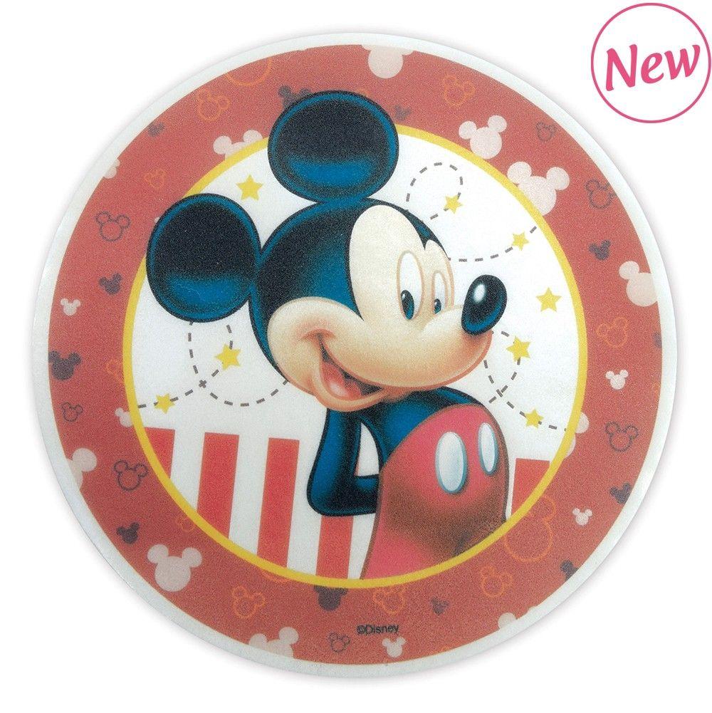 Scrap Cooking: Edible unleavened disk « Mickey » 20cm. MOQ 12 Units @ £3.21 per unit 1235MM