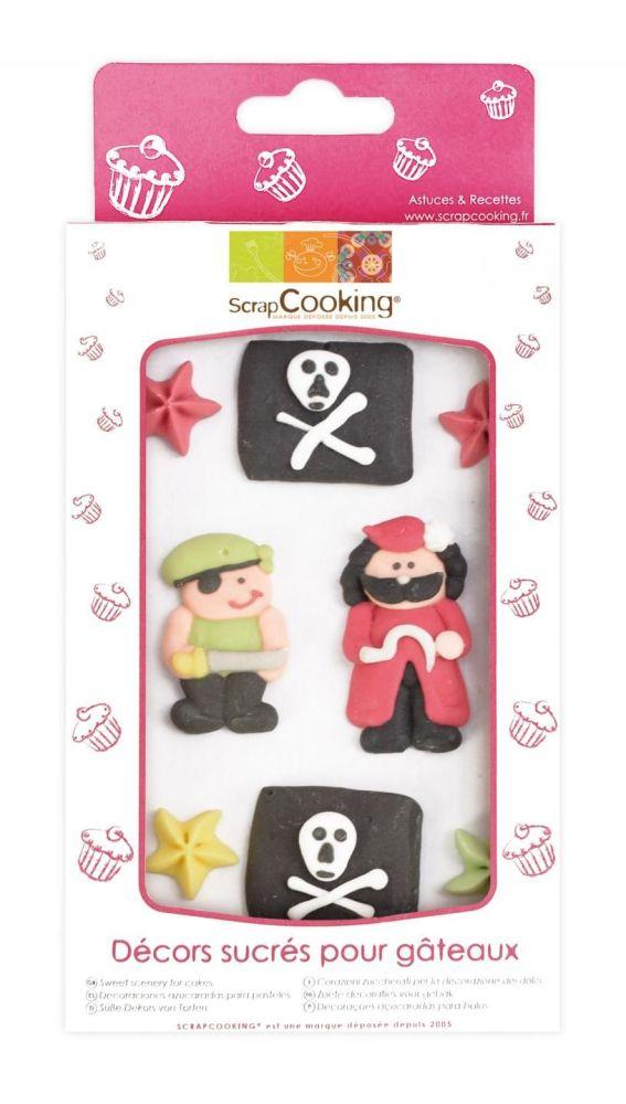 Scrap Cooking: Sweetened decors Pirate. MOQ 15 Units @ £3.54 per unit 7049