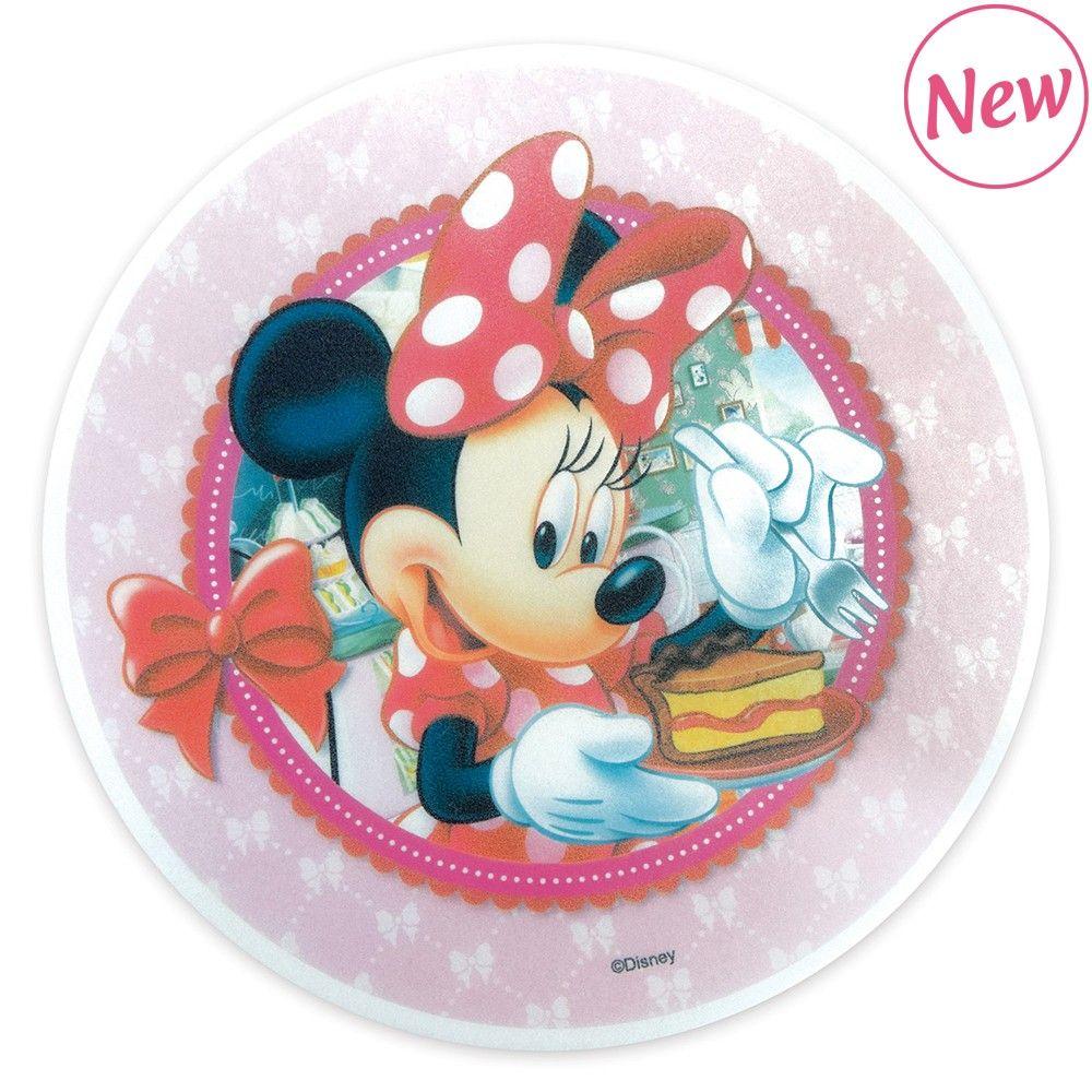 Scrap Cooking: Edible unleavened disk « Minnie » 20cm. MOQ 12 Units @ £3.21 per unit 1234MM