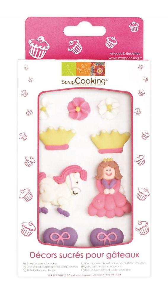 Scrap Cooking: Sweetened decors Princess. MOQ 15 Units @ £3.54 per unit 7048