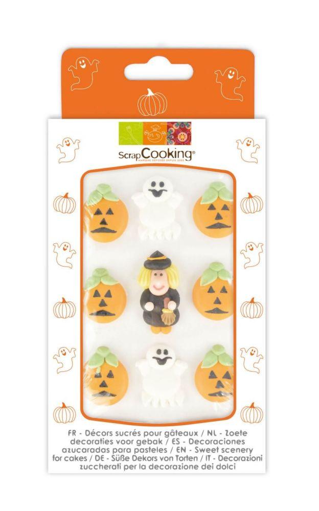Scrap Cooking: 9 sweetened decors halloween theme. MOQ 15 Units @ £3.54 per unit 7047