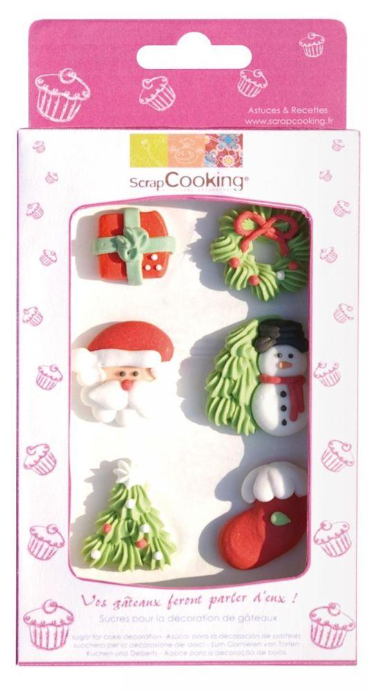 Scrap Cooking: Sweetened decors ScrapCooking®  Christmas. MOQ 15 Units @ £3.54 per unit 7040