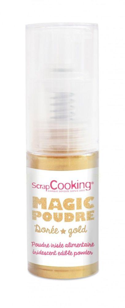 Scrap Cooking: Magic Powder gold 7g. MOQ 6 Units @ £7.66 per unit 4026