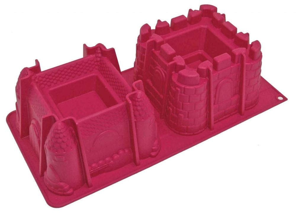 """Scrap Cooking: ScrapCooking® Mould """"2 Castles"""" . MOQ 4 Units @ £16.76 per unit 3146"""