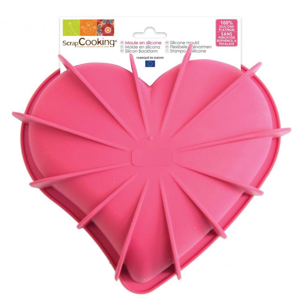 Scrap Cooking: Creative Mould ScrapCooking® Heart. MOQ 4 Units @ £13.54 per unit 3002