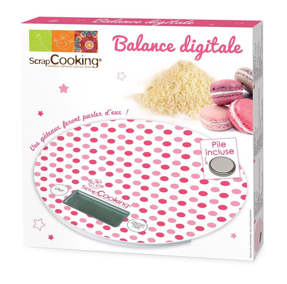 Scrap Cooking: Digital scale. MOQ 6 Units @ £17.2 per unit 3901