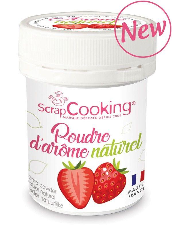 Scrap Cooking: Natural Aroma Powder Strawberry. MOQ 6 Units @ £3.03 per unit 4438
