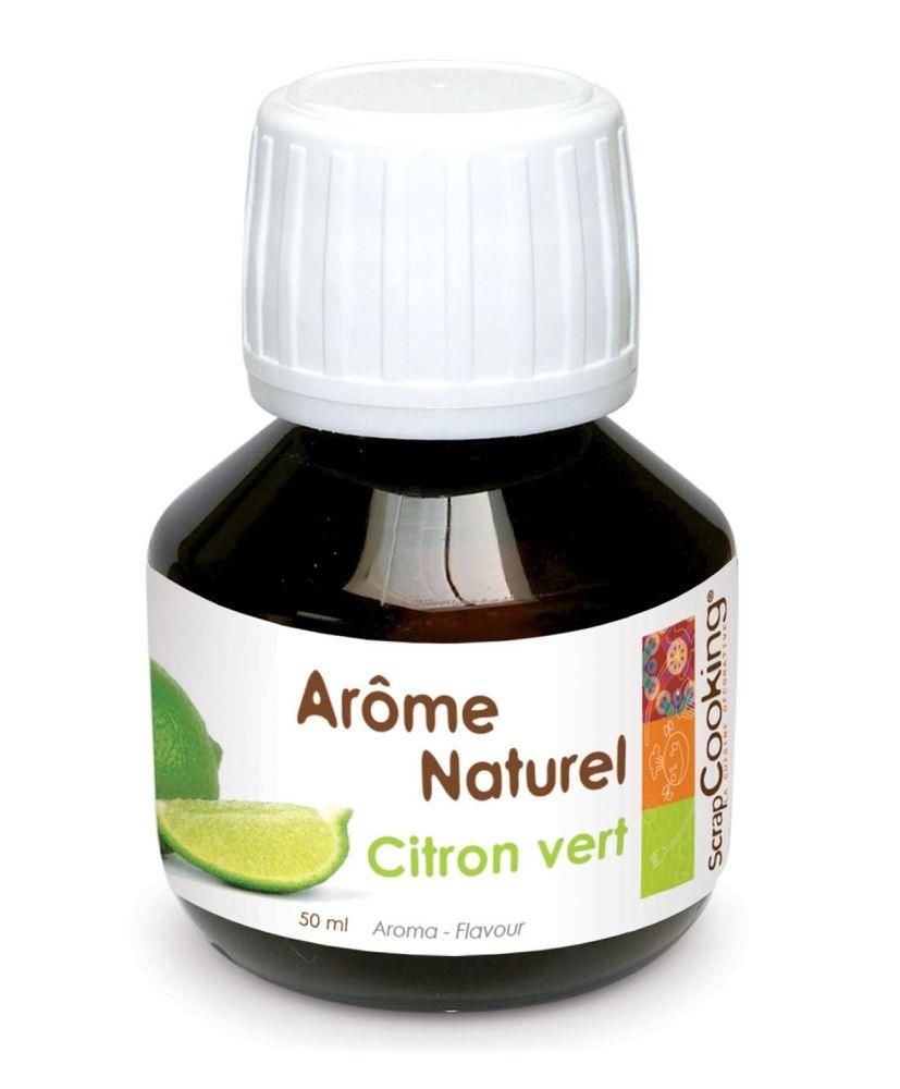 """Scrap Cooking: Arôme naturel """"green lemon"""" 50ml (TVA 5%). MOQ 6 Units @ £4.58 per unit 4437"""