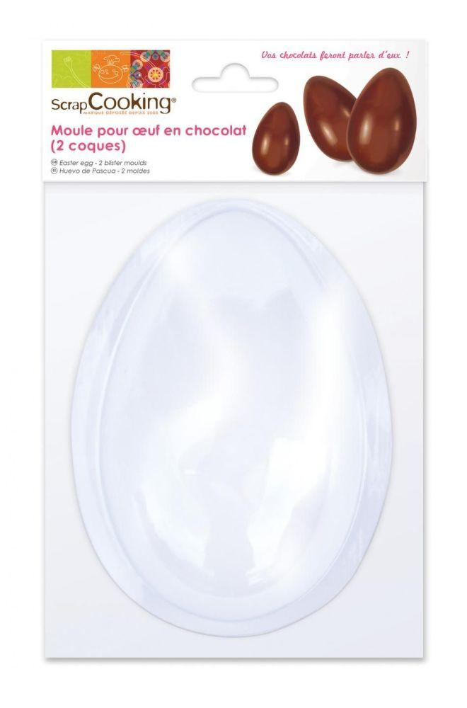 Scrap Cooking: Egg chocolat mould. MOQ 5 Units @ £4.09 per unit 9470