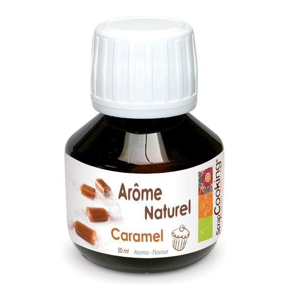 """Scrap Cooking: Natural Flavor """"Caramel"""" 50 ml (VAT 5,5%). MOQ 6 Units @ £4.58 per unit 4418"""