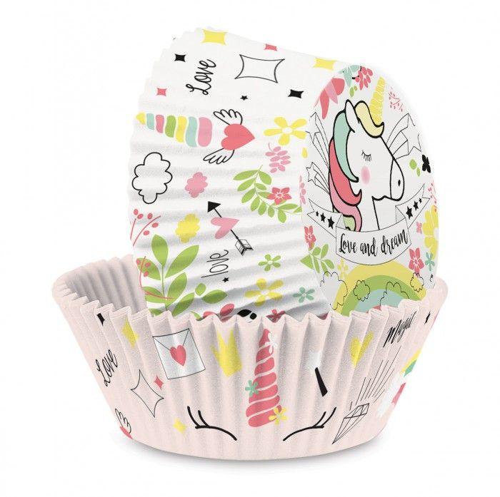 6 packs of 36 Unicorn Cupcake Cases at £2.69 per pack