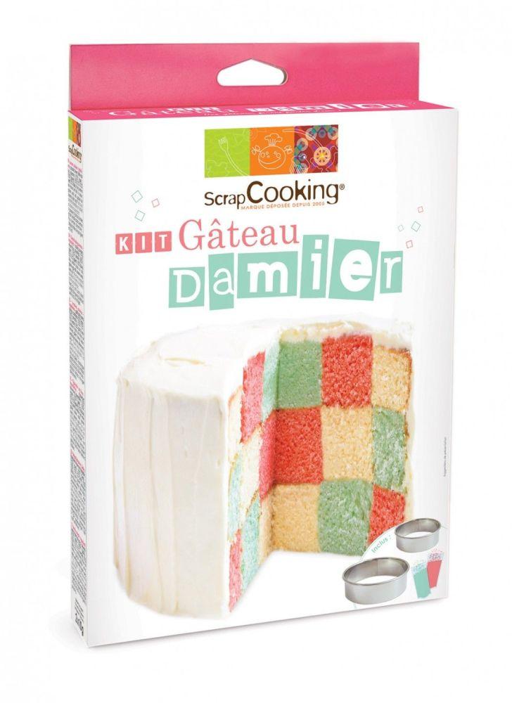Scrap Cooking: Checkerboard cake set. MOQ 6 Units @ £7.23 per unit 3945