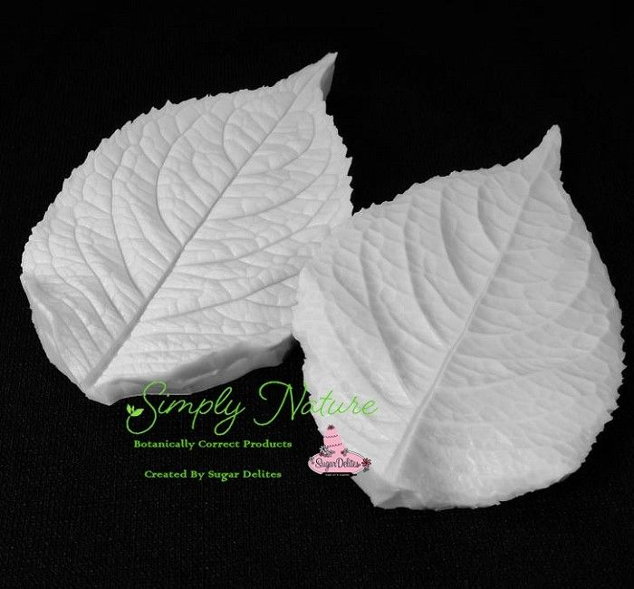 Authentic Veiners and Cutters Hydrangea Leaf Lg