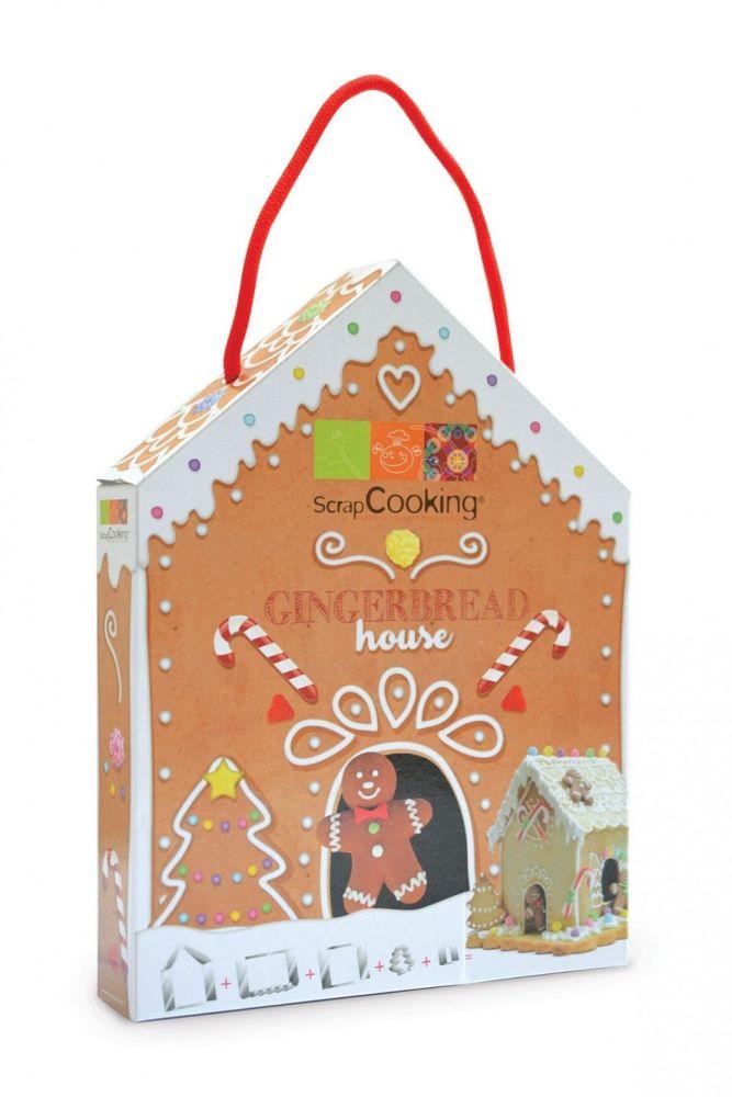 Scrap Cooking: Cookie cutter kit « Gingerbread house ». MOQ 6 Units @ £6.85 per unit 3975