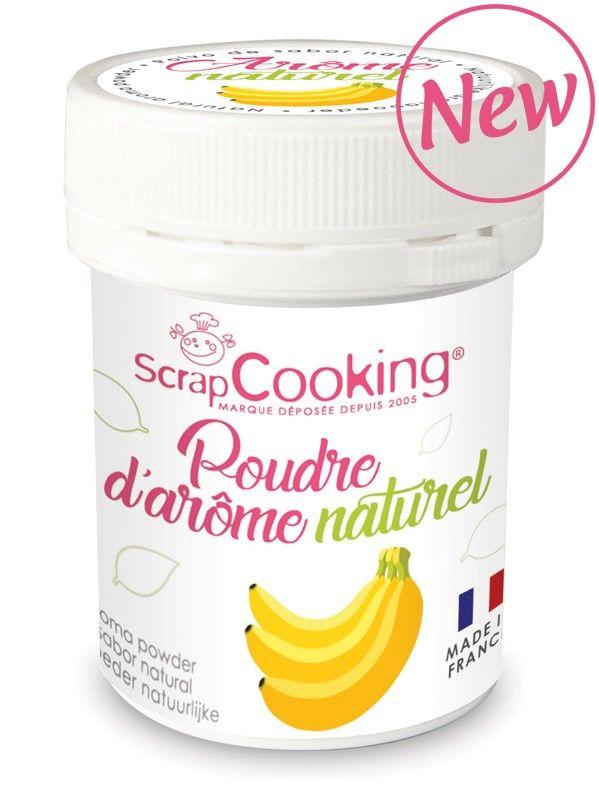 Scrap Cooking: Natural Aroma Powder Banana. MOQ 6 Units @ £3.03 per unit 4448