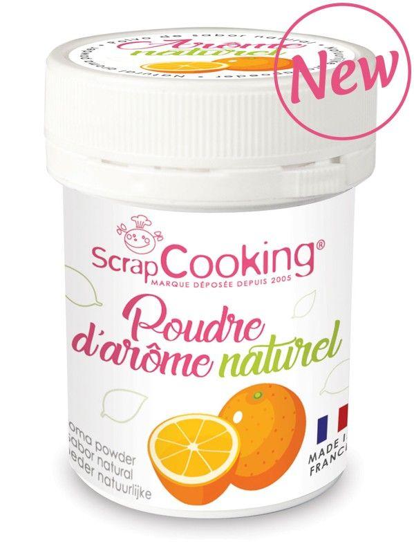Scrap Cooking: Natural Aroma Powder Orange. MOQ 6 Units @ £3.03 per unit 4447