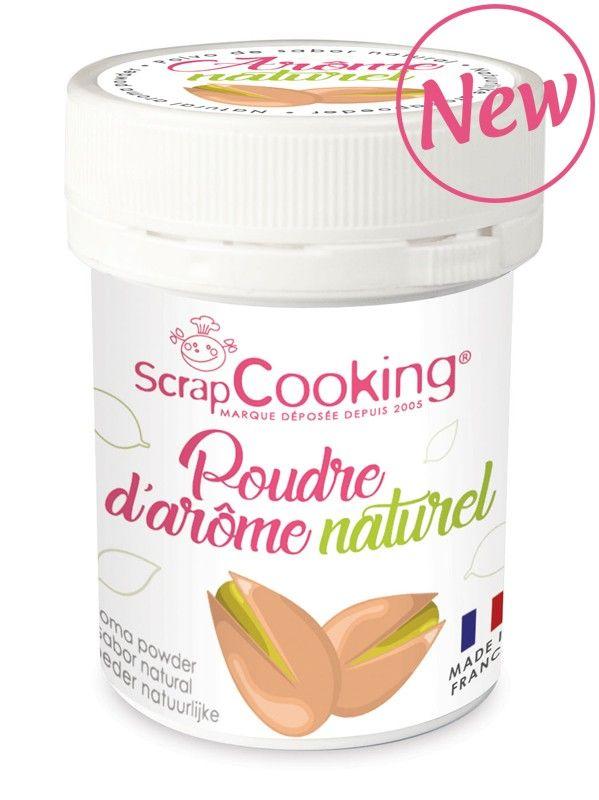 Scrap Cooking: Natural Aroma Powder Pistachio. MOQ 6 Units @ £3.03 per unit 4446