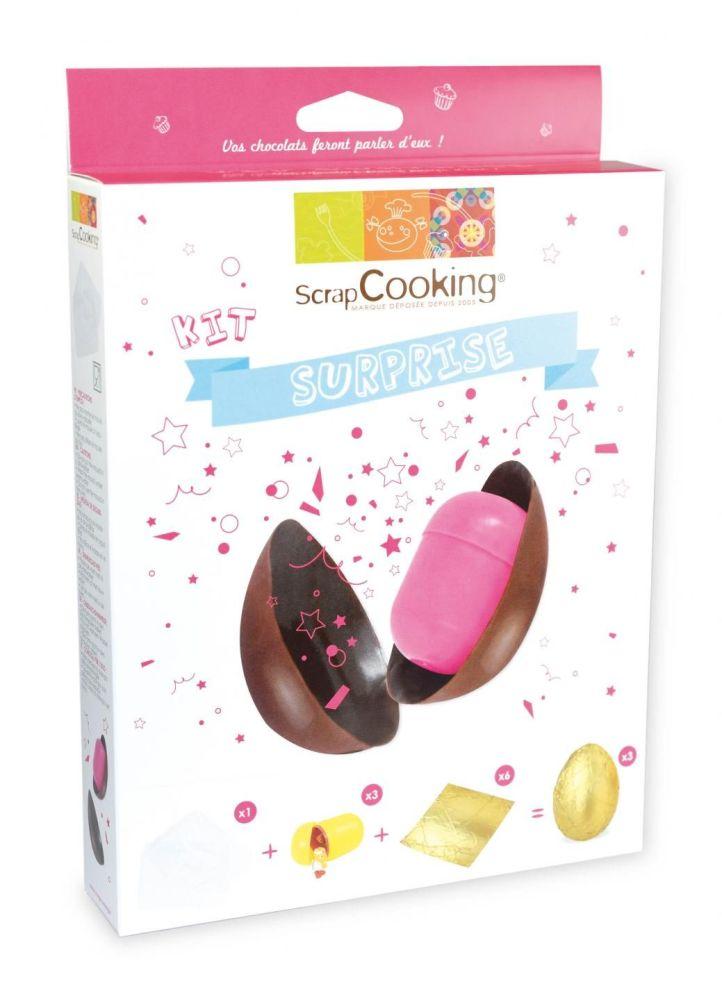 Scrap Cooking: Kit Surprise Egg. MOQ 6 Units @ £7.37 per unit 3960